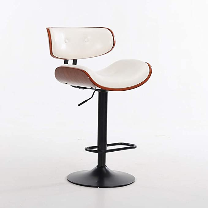 Amazon.com: ENCOUNTER-G Retro American Bar Chair U-Shaped Seat ...