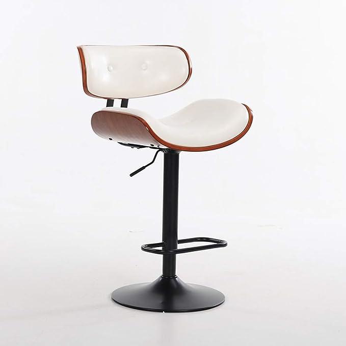 Amazon.com: ENCOUNTER-G Retro American Bar Chair U-Shaped Seat ...