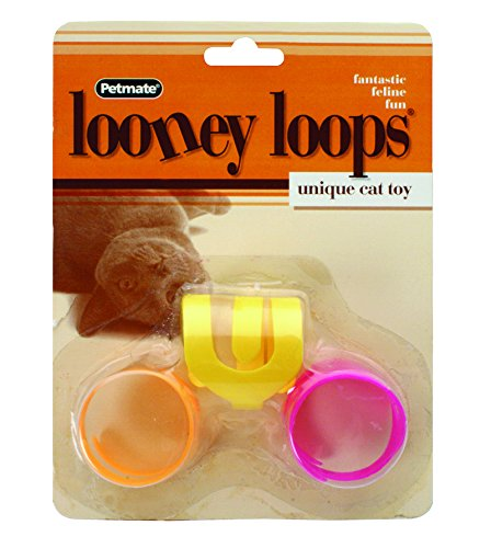 Doskocil PETMATE 26333 Looney Loops Cat Toy