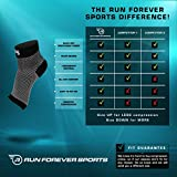 Plantar Fasciitis Foot Compression Sleeves (Pair) - Lightweight Ankle Brace - Relief for Arch Pain, Foot Pain, And Discomfort - Best Support for Running, Hiking, Sports & Everyday Wear