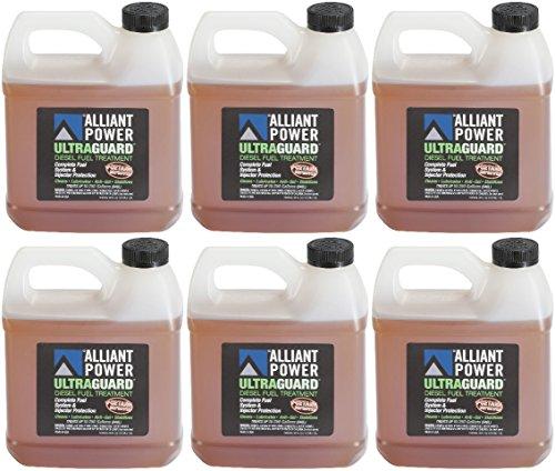 Alliant Power ULTRAGUARD Diesel Fuel Treatment - 6 Pack of 64 oz Jugs # AP0503 by Alliant Power