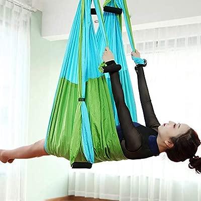 Antigravitante Aéreo Yoga Fitness Colgante Agarre Inversión ...