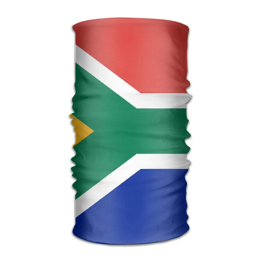 BigHappyShop Flag Of South Africa Magic Scarf Bandana Outdoor Sport For Men Women Headband for Cycling Motorcycling Neck Gaiter Running