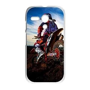 Motocross Motorola G Cell Phone Case White&Phone Accessory STC_949249