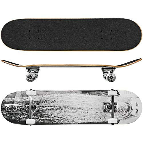 "Roller Derby Rd Deluxe Series Skateboard The Beard, Multi, 31"" x 8"""