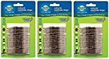 (Pack of 3) PetSafe Busy Buddy Refill Ring Dog Treats for Select Busy Buddy Dog Toys, Natural Rawhide
