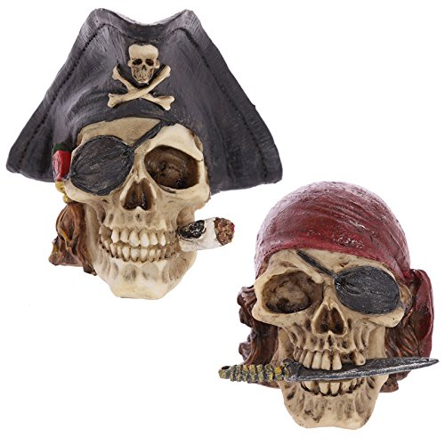Gothic-Pirate-Skull-Decoration
