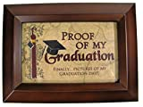 Wood Finish Graduation 4X6 Photo Album