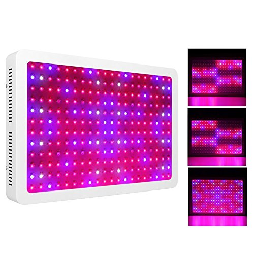 Morsen 2400W LED Grow Light 2 Dimmer On Off Switch Full Spectrum for Hydroponic Indoor Greenhouse Garden Plants Growing
