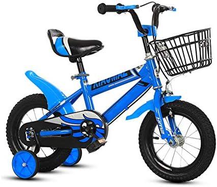 GZXGXY Bicicleta Portátil para Niños, Bicicleta Azul para Niños ...