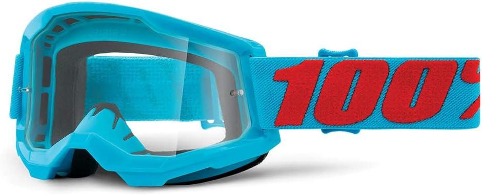 Azul 100 Percent STRATA 2 Goggle Summit-Clear Lens ESTANDAR Adultos Unisex
