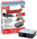 Tomcat Mouse Killer Tier 3 Disposable Mouse Bait Stations, pre-packed with 1oz Block of bait. Tier 3 Stations meet EPA standards for resistance to tampering by children and are approved for indoor use. Convenient disposable stations - no need...