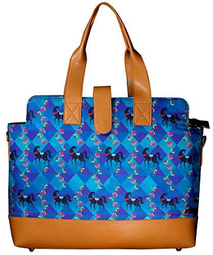Women stylish Spacious Laptop Briefcase Tote Handbag Designer Bag Fits upto 17