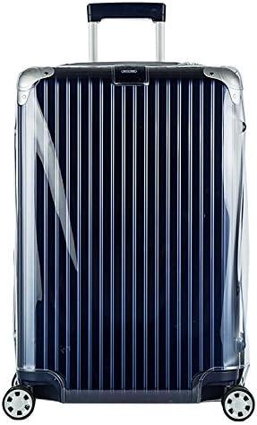 [スポンサー プロダクト]スーツケースカバー LIMBO リンボ シリーズ専用 透明 PVC ビニルカバー ブラックファスナータイプ(型番:881 用)