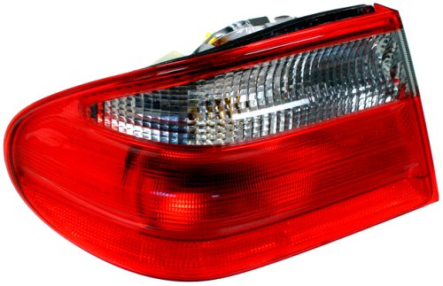 iver Side Replacement Tail Light Assembly (Ulo Mercedes Benz Driver)