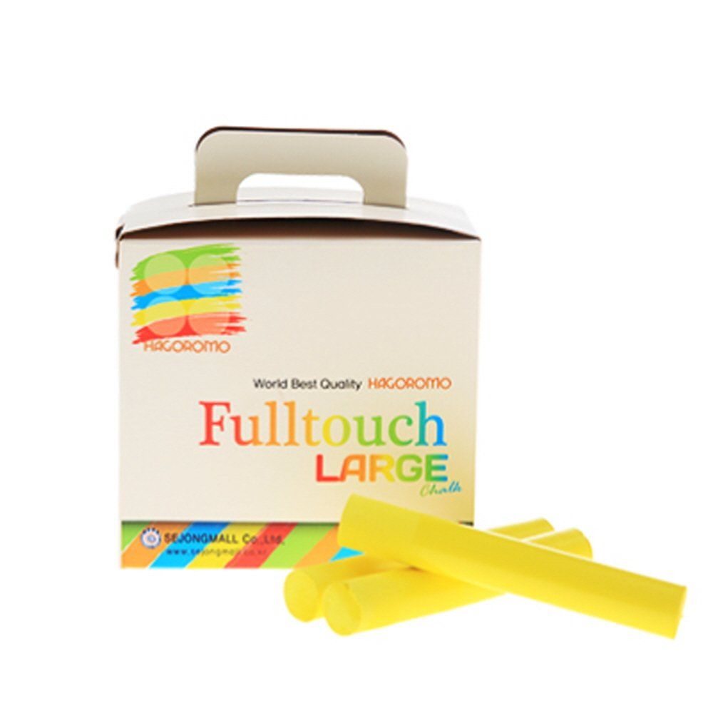 Hagoromo Fulltouch Large Chalk 1Box Dustless Ltd Non-Toxic 15pcs//Green SEJONGMALL Co