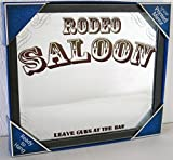 Rodeo Saloon Country Western Ready to Hang Framed Mirror