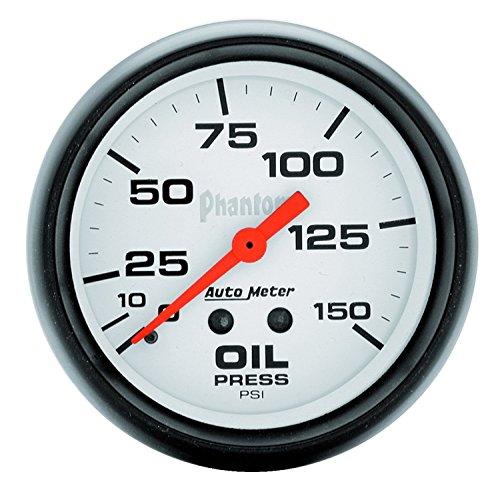 (Auto Meter 5823 Phantom Mechanical Oil Pressure Gauge)