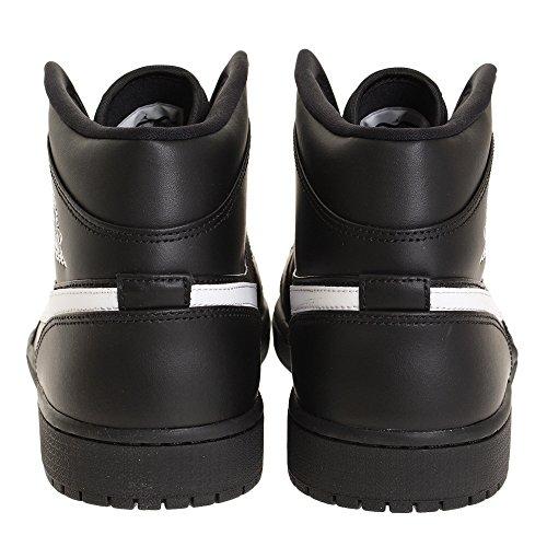 Noir Noir Homme Air 1 Mid Nike de Chaussures Basketball Jordan SAqzw6T