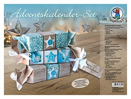 Ursus 17840002 Adventskalenderset Frozen