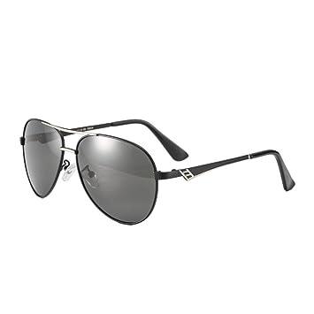 HONEY Gafas de sol de conducción polarizadas - Personalidad retro - Gafas de hombre (Color
