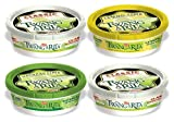 Twang A Rita Classic, Lemon Lime & Natural Lime Assorted Flavors Margarita Salt (Pack of 4)