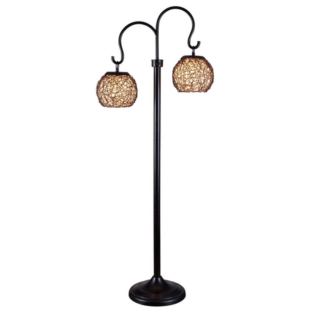 Gardner Indoor/ Outdoor Floor Lamp - It Stands Up to Wind, Rain and Sunlight Without Damage or Fading