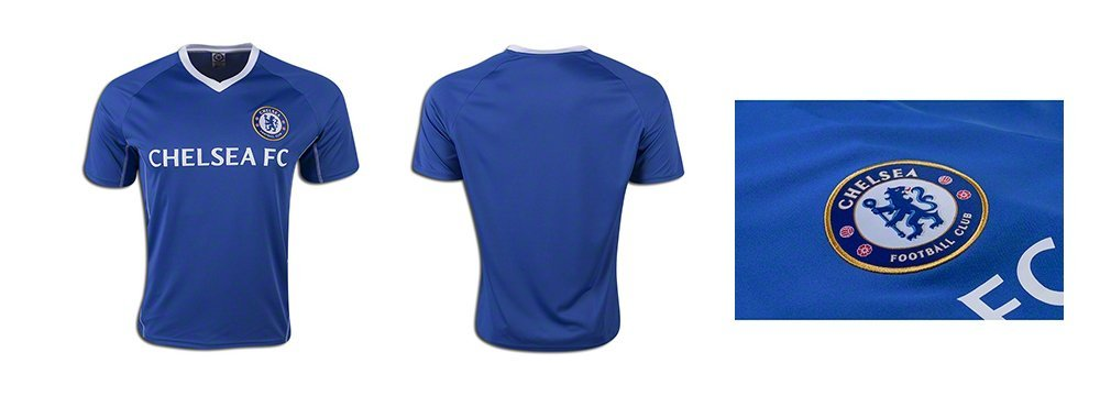 0ba60d87e Amazon.com   Chelsea Fc Adult Training Soccer Jersey Add Any Name and  Number - Custom Name and Number   Sports   Outdoors