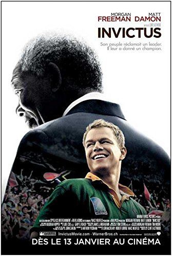 Invictus Announcement Movie (2009) Swiss Style A 11 x 17 Inches - 28cm x 44cm (Matt Damon)(Morgan Freeman)(Scott Eastwood)(Langley Kirkwood)(Robert Hobbs)(Tony Kgoroge)