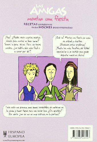 Las amigas montan una fiesta (Salud & Cocina/ Health and Cooking) (Spanish Edition)