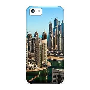 New Cute Funny Dubai Buildings Case Cover/ Iphone 5c Case Cover