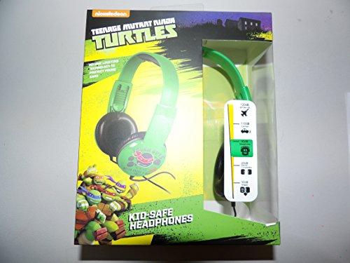 Teenage Mutant Ninja Turtles HP2-03665 Kids Safe Headphones by Nickelodeon