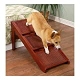 Convertable Wicker Stairs/Ramp – 3 Steps, My Pet Supplies