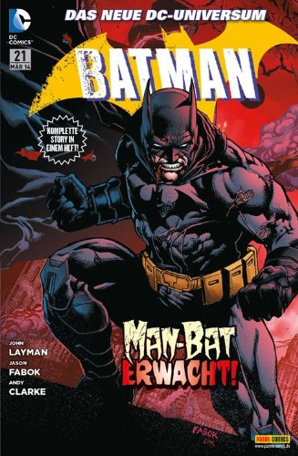 Batman #21 - Man- Bat erwacht! (2014, Panini) ***New 52***