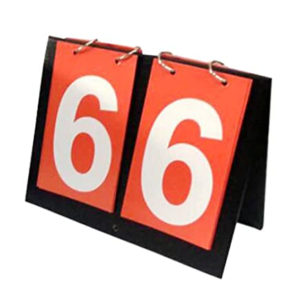 DRAGON SONIC Red 3-Digit Score Board Sports Competition Scoreboards Basketball Football