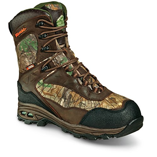 WOOD N' STREAM Men's Maniac X-Static Hunting Boots, 840 Gram, Realtree Xtra Camo by WOOD N' STREAM