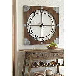 Signature Design by Ashley Palila Wall Clock