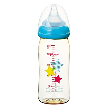 Botella biberón recién nacido PPSU de ancho calibre 180 ml con asa ...