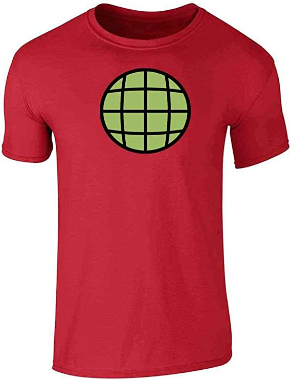 Amazon.com: Planeteer Team Vintage Retro 90s Halloween Costume Graphic Tee  T-Shirt for Men: Clothing