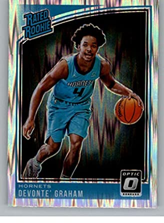 low priced ee6ef 73604 Amazon.com: 2018-19 Donruss Optic Shock Basketball #189 ...