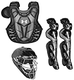 Under Armour Converge Pro Youth 9-12 Catchers Gear Set, Black