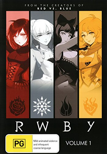 RWBY Volume 1 | Anime | NON-USA Format | PAL | Region 4 Import - Australia