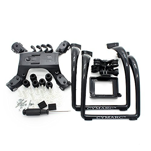Extended Landing Gear and Camera Holder with Gimbal Kit for MJX B2W B2C Bugs 2 RC Quadcopter (Color: Red)