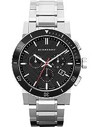 Burberry BU9380 42mm Silver Steel Bracelet & Case Anti-Reflective Sapphire Men's Watch