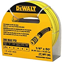 Deals on DEWALT 50 ft. x 1/4 in. Air Hose