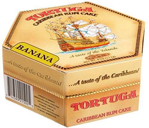 Tortuga Caribbean Rum Cake 4 oz Banana Flavor