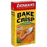 Zatarains Chicken Bake and Crisp 8 oz - Pack of 12