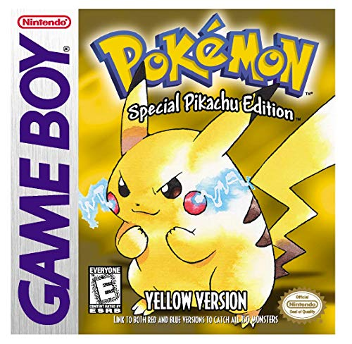 Pokemon: Yellow Version - Special Pikachu Edition (Gameboy Advance Sp Play Gameboy Color Games)
