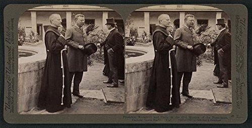 Photo: Reproduction, President Theodore Roosevelt, Franciscan Fathers, Santa Barbara, CA, 1 . - Shopping Barbara Santa Ca