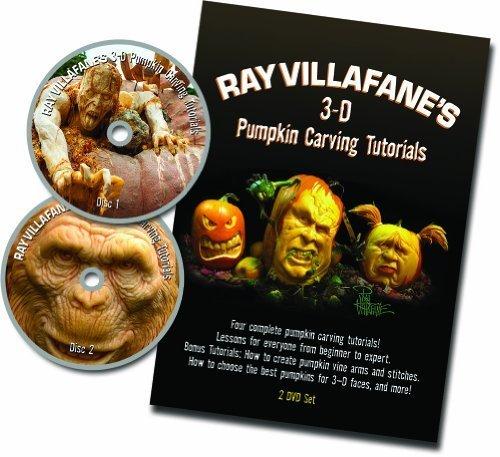 Ray Villafane's 3-D Pumpkin Carving Tutorials
